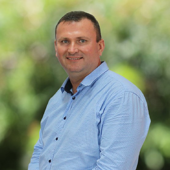 A photo of Nathan Currie, a podiatrist at Tyack Health Manly West