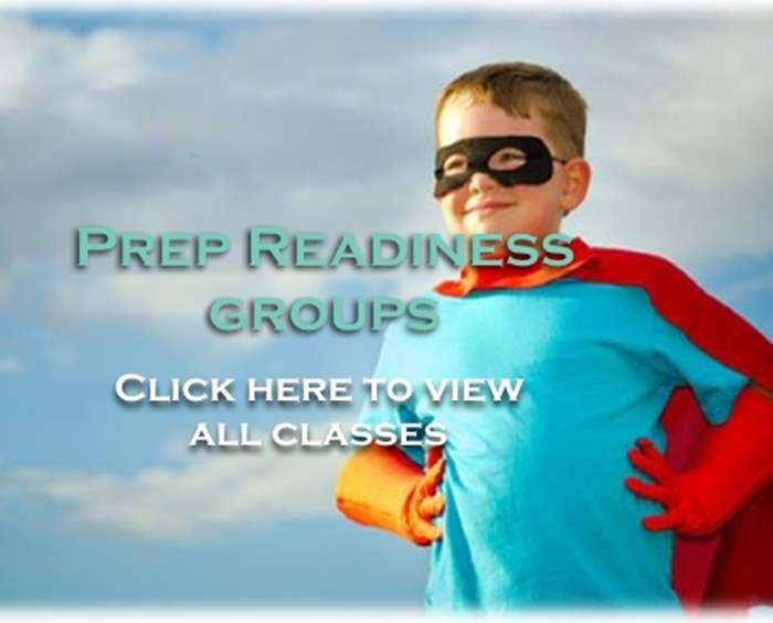 A child wearing a super hero outfit with his hands on his hips with the text